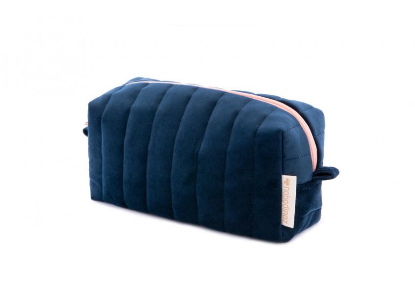 Savanna velvet Vanity Case night blue