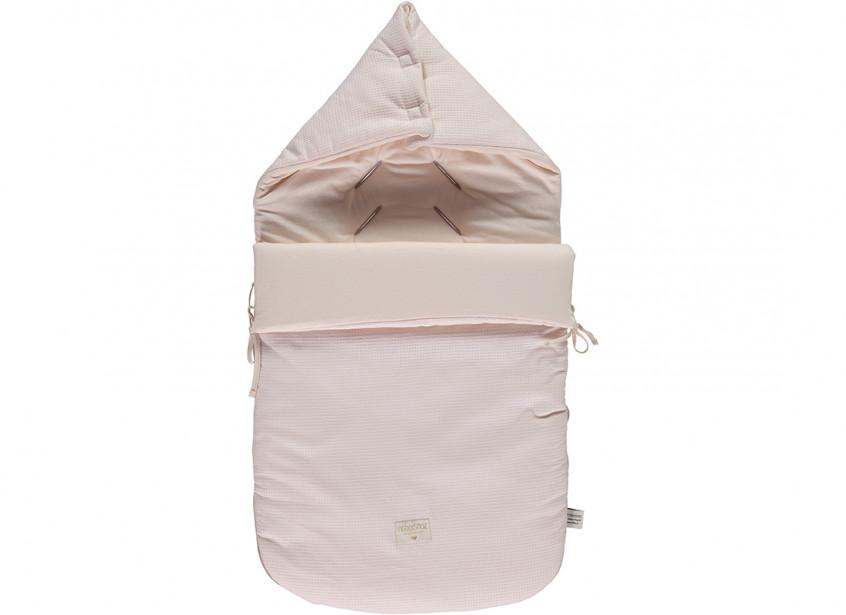 Saco de paseo Passegiata nido de abeja 90x46x6 dream pink
