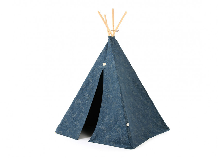 Tipi Phoenix 149x100 gold bubble/ night blue