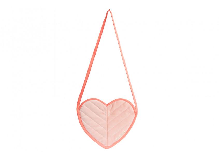 Love velvet mini bag bloom pink