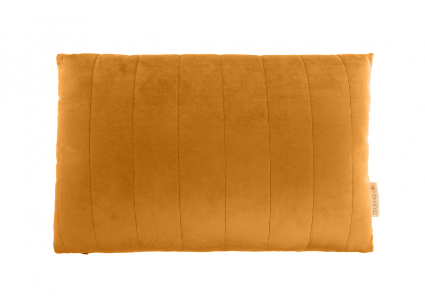 Akamba velvet cushion farniente yellow