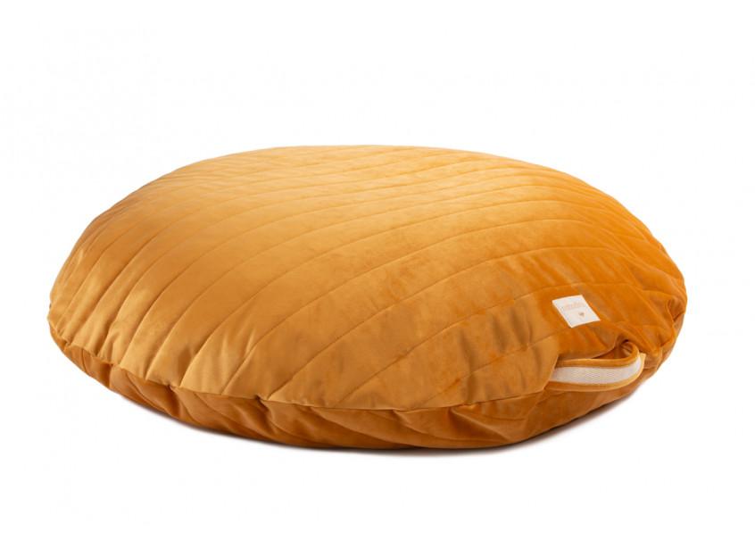 Sahara velvet beanbag farniente yellow