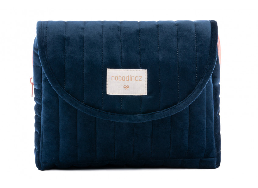 Savanna velvet Maternity Case night blue