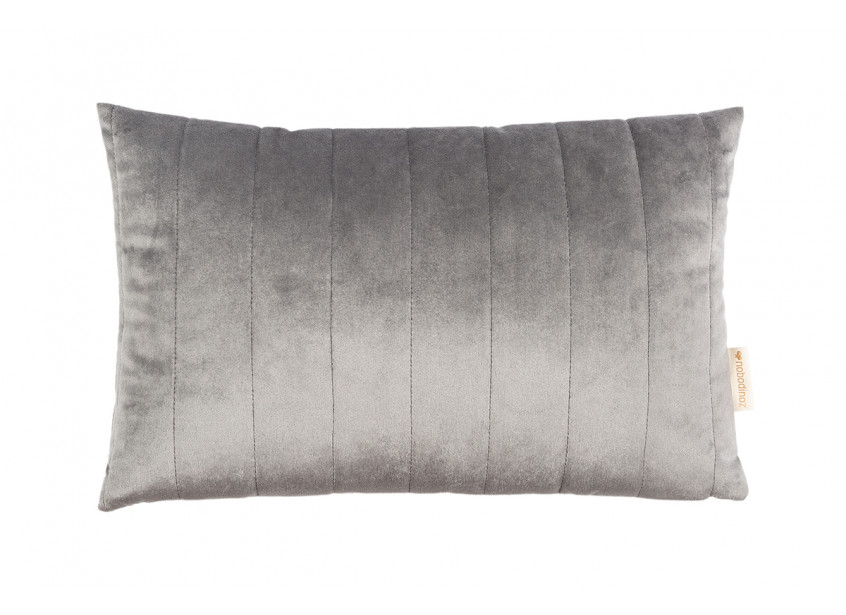 Cojín Akamba • velvet slate grey