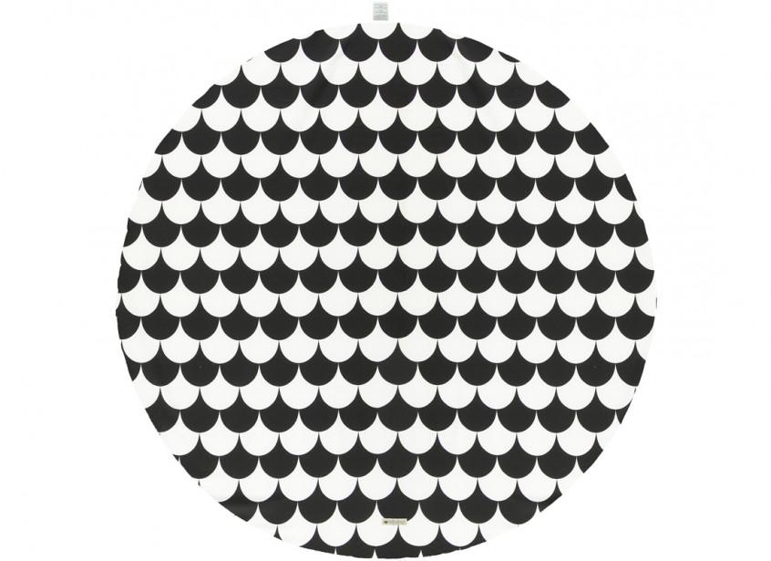Alfombra de juego Apache escamas negras - 2 tallas