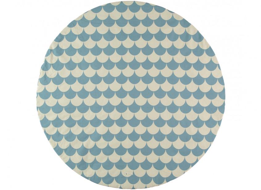 Alfombra de juego Apache escamas azules - 2 tallas