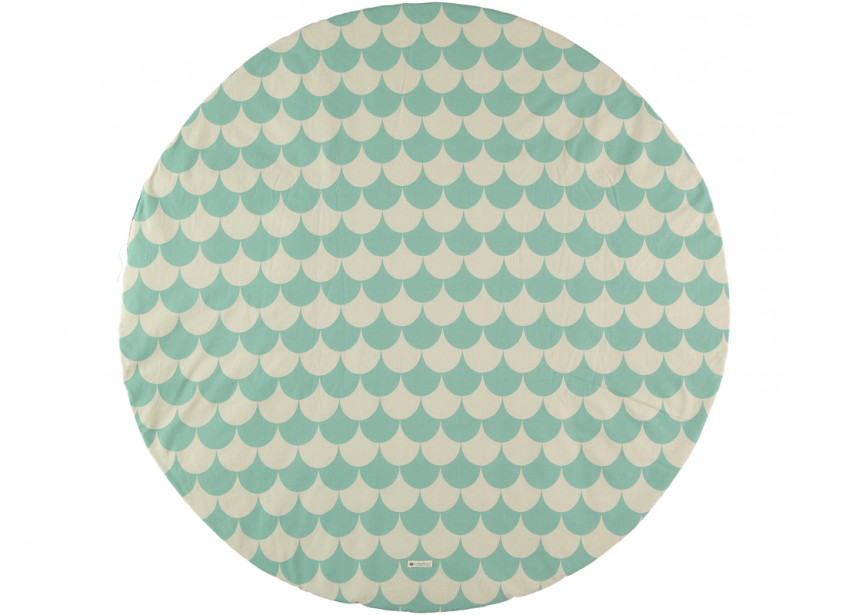 Alfombra de juego Apache escamas verdes - 2 tallas