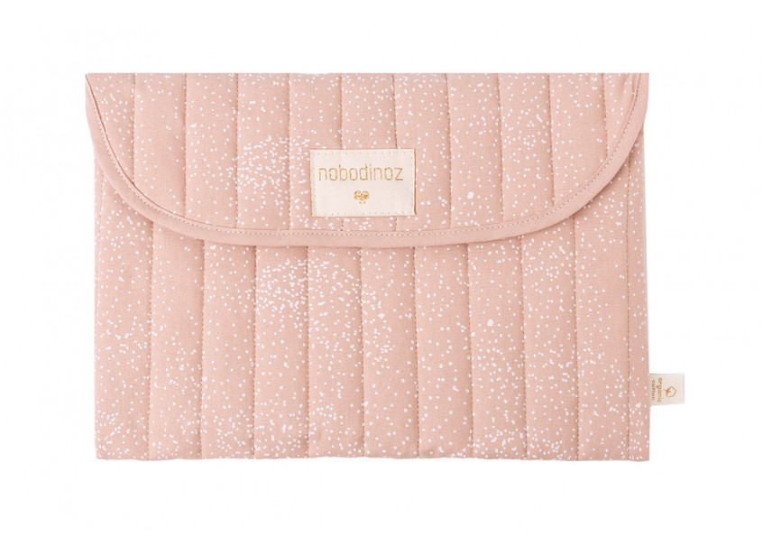 Estuche Bagatelle • white bubble misty pink