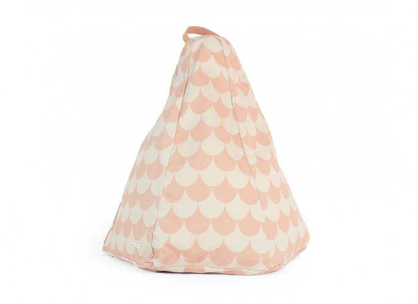 Puf de niño Marrakech • pink scales