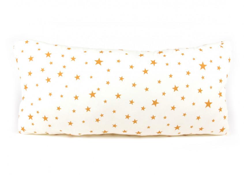 Cojin Averell 52x24 estrellas mostaza