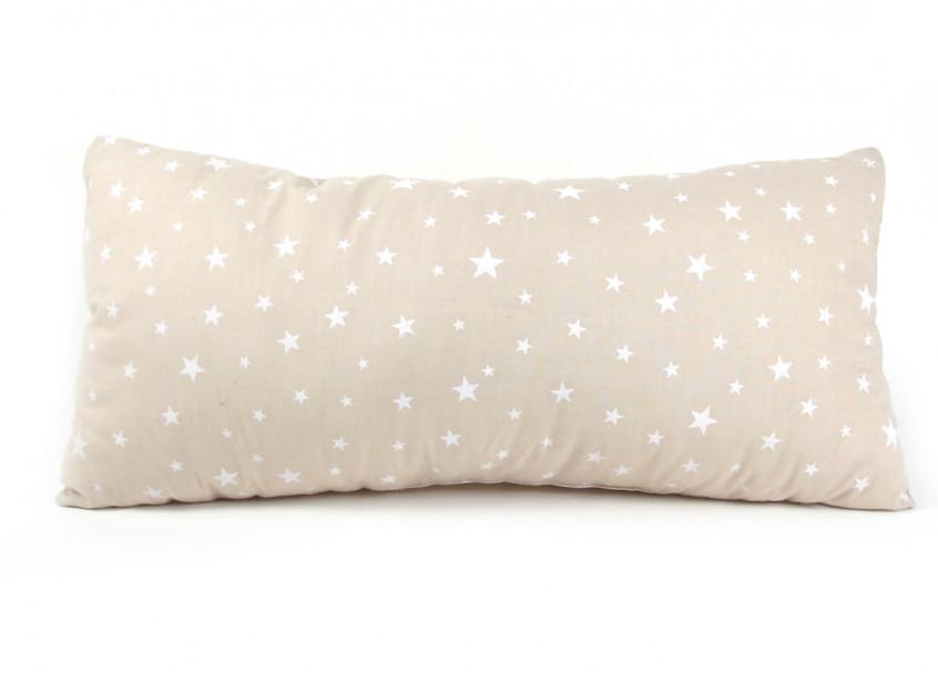 Cojin Averell 52x24 arena estrellas blancas