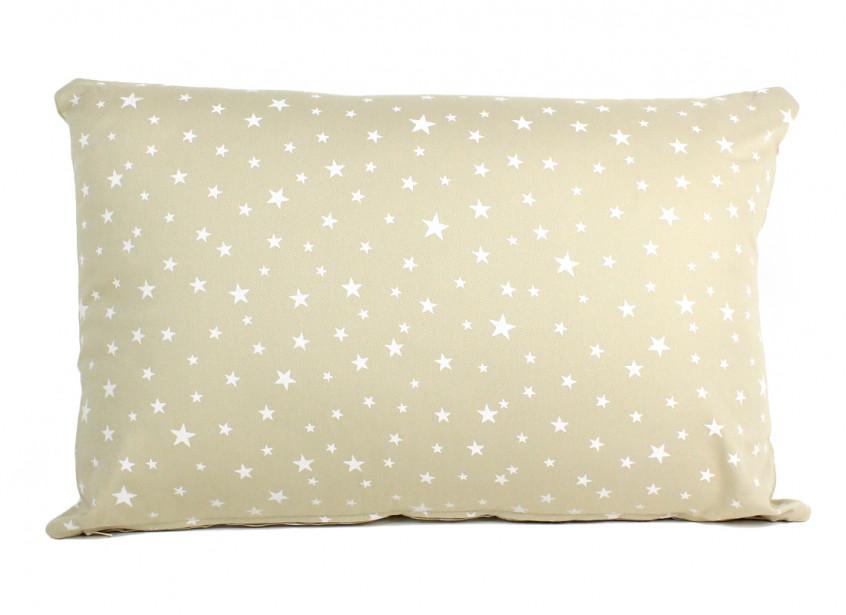 Cojin Neptune 60 x 40 arena estrellas blancas
