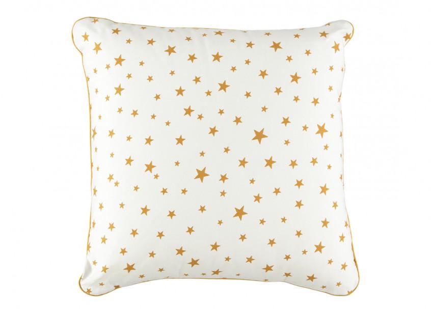Cojin Venus 38x38 estrellas mostaza