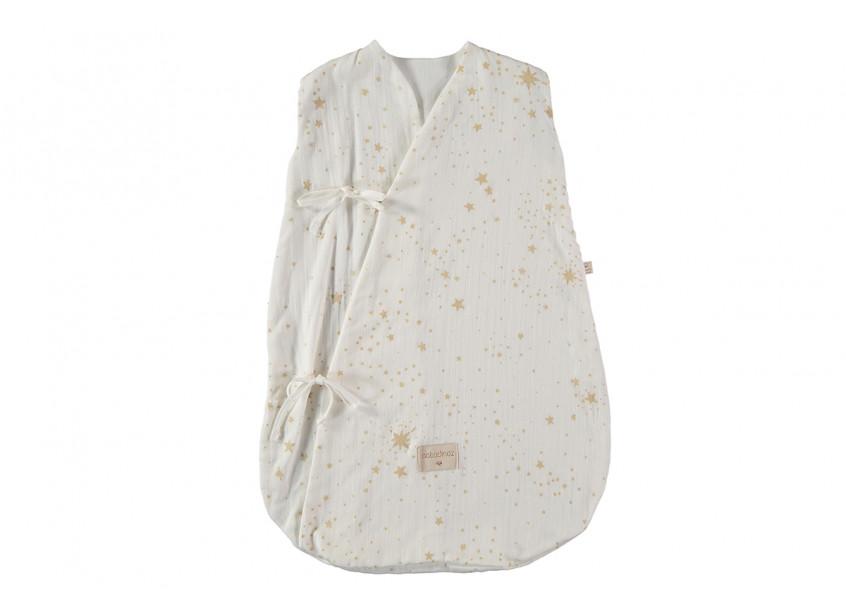 Saco de dormir de verano Dreamy gold stella white - 2 sizes