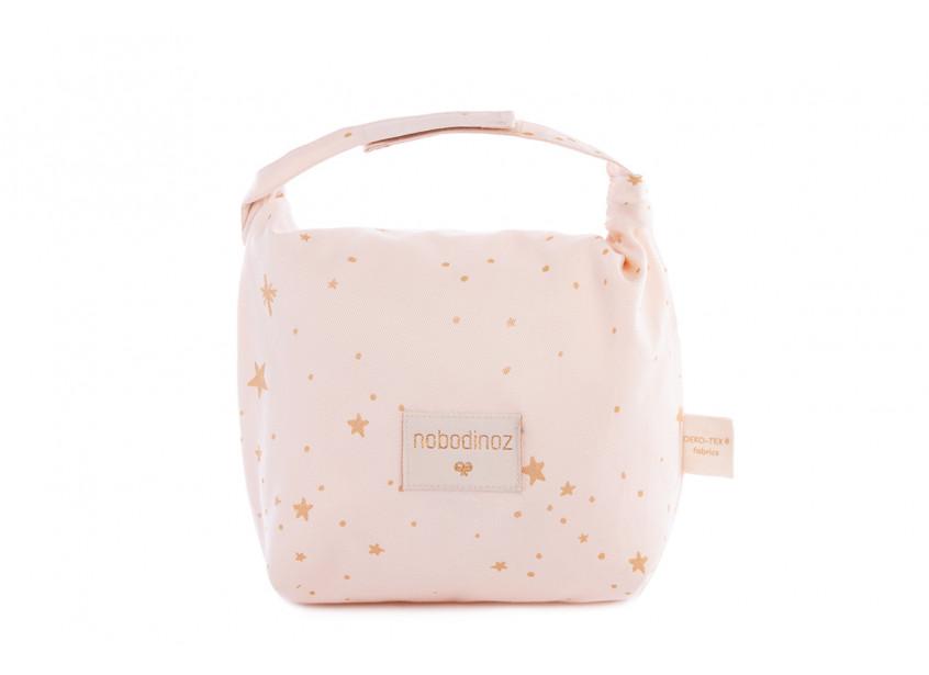 Bolsa de merienda eco gold stella/ dream pink