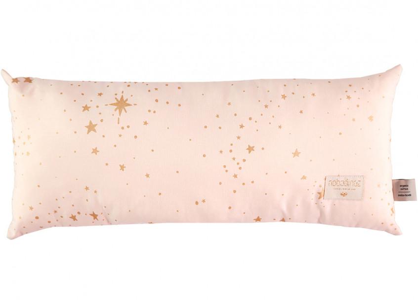 Cojin Hardy 22x52 gold stella/ dream pink