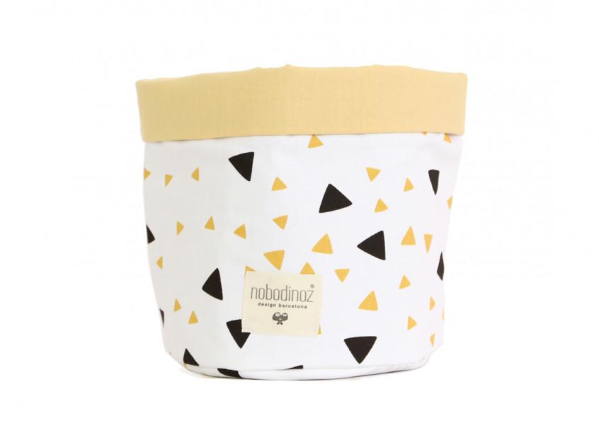 Cesta Mambo chispas negros y miel - 3 tallas