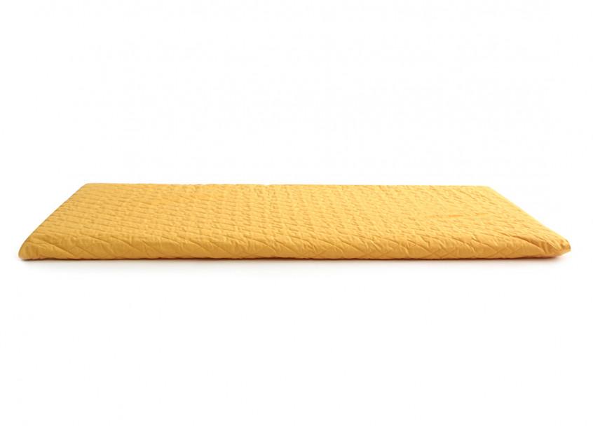Colchoneta de suelo Monaco 128X68X4 farniente yellow