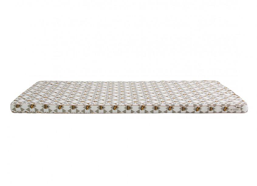 Colchoneta de suelo Saint Tropez 120x60x4 circo gris