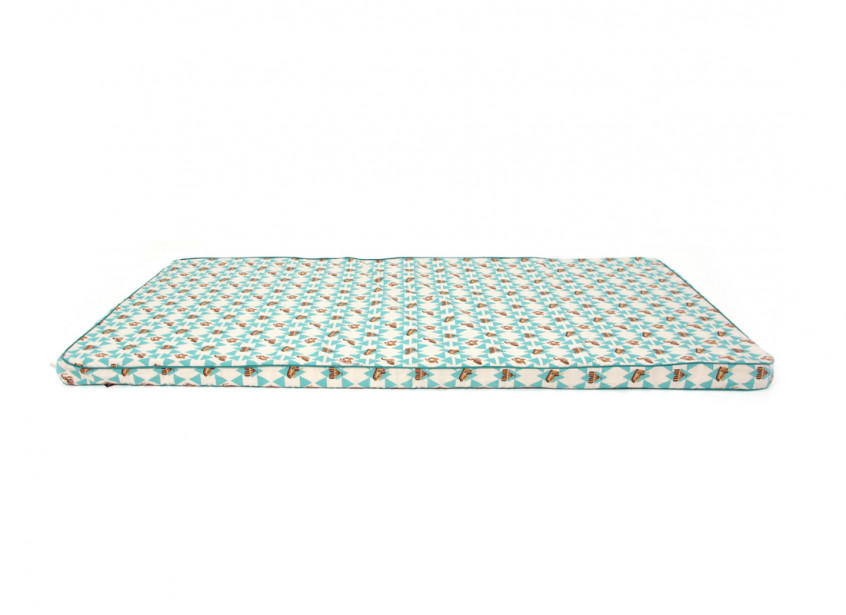 Colchoneta de suelo Saint Tropez 120x60x4 circo verde