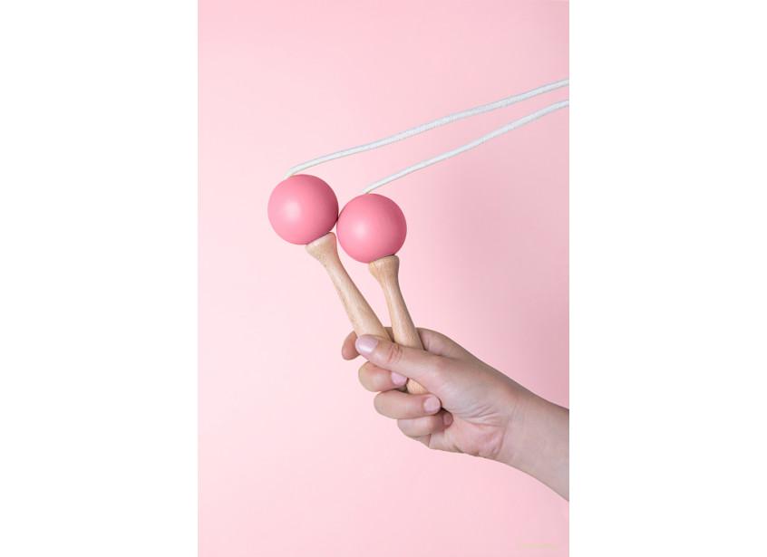 Comba para saltar 210cm indian pink