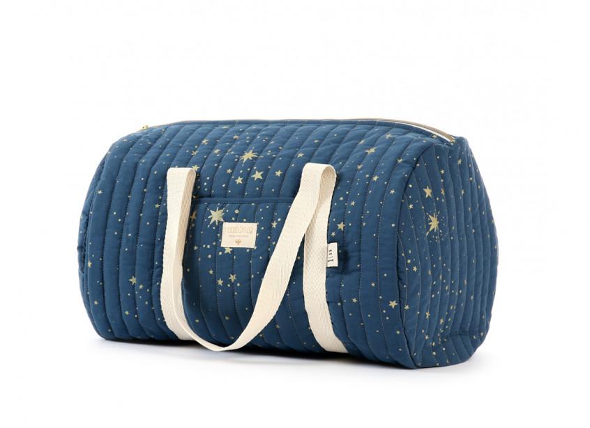 Bolsa weekend New York 30x45x30 gold stella/ night blue