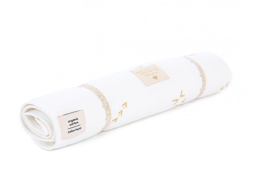 Cambiador de viaje Nomad 60x35 gold secrets/ white