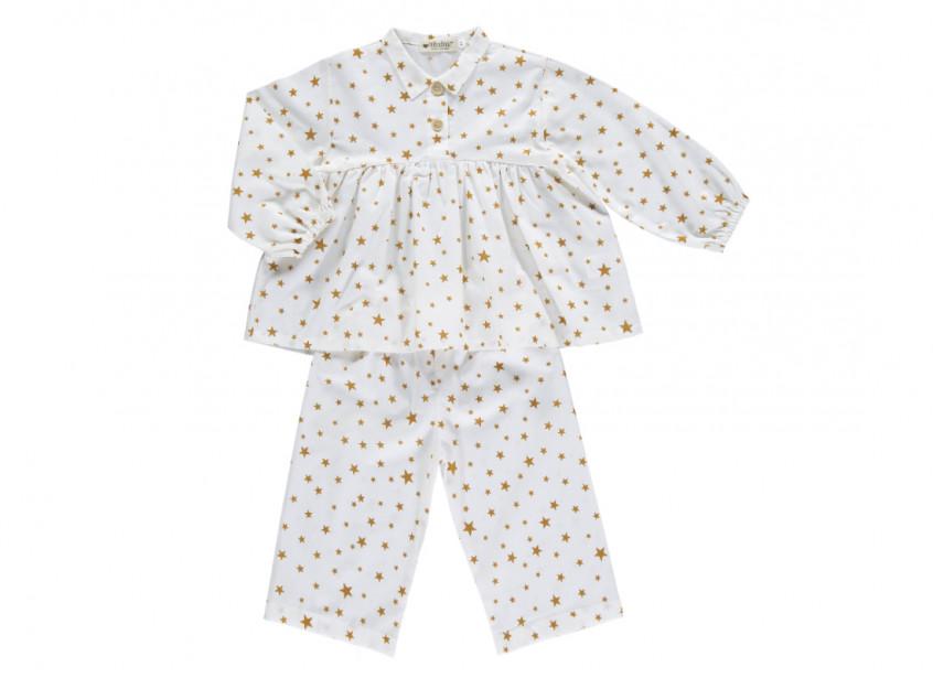 estrellas mostaza osaka short pyjama