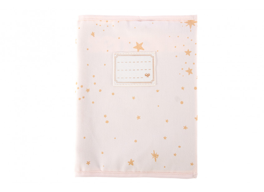 Funda de cuaderno A5 Too Cool gold stella/ dream pink