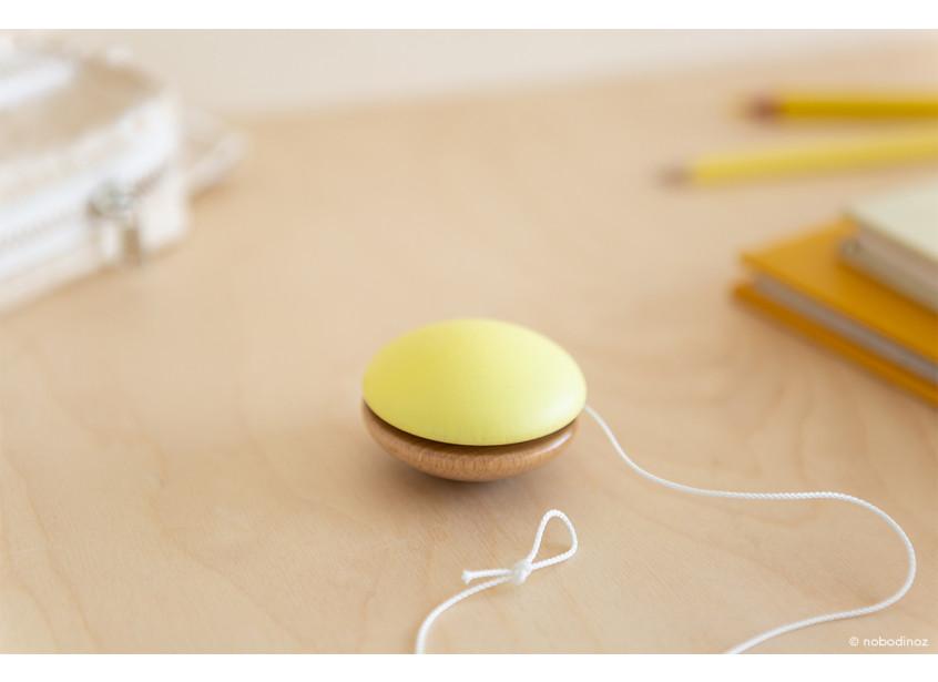 Yoyo de madera • yellow