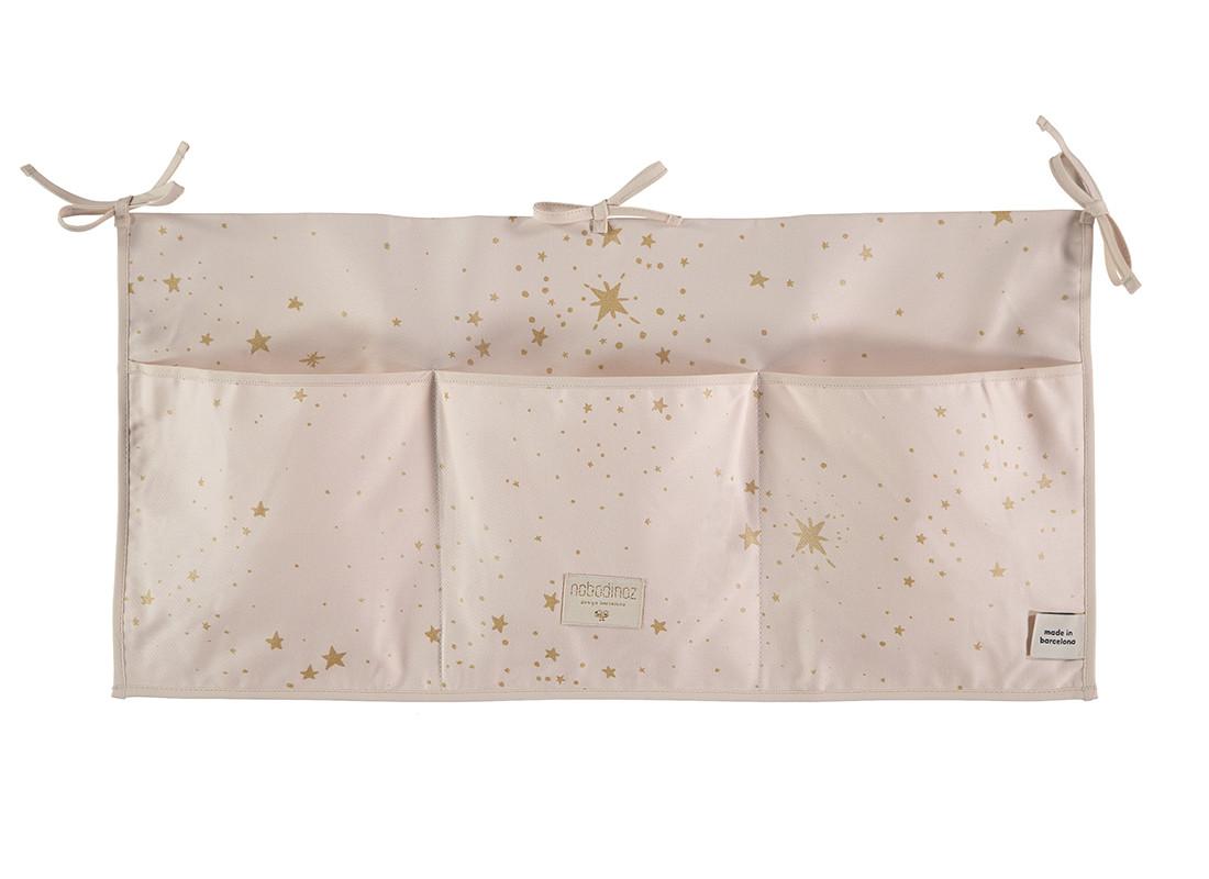 Organizador de cuna merlin 30x60 gold stella dream pink website oficial deco para ni os y beb s - Organizador de cuna ...