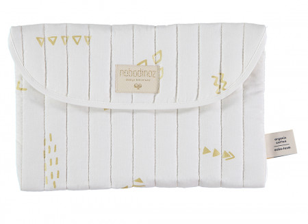 Estuche Bagatelle 19x27 gold secrets/ white
