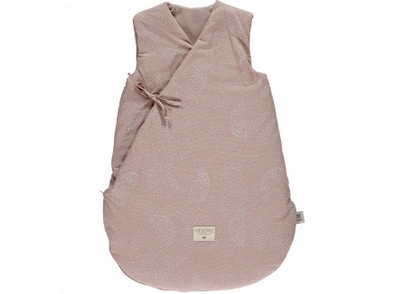 Saco de dormir de invierno Cloud • white bubble misty pink