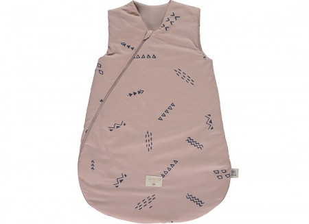 Saco de dormir Cocoon blue secrets/ misty pink - 2 tallas