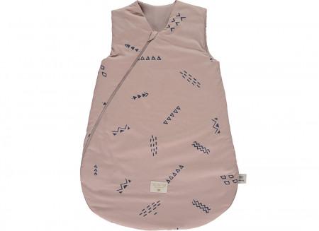 Saco de dormir Cocoon blue secrets/ misty pink - talla large