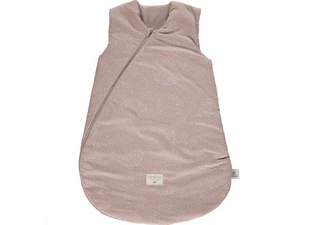 Saco de dormir Cocoon white bubble/ misty pink - 2 tallas