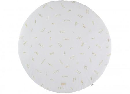Alfombra de juego Full Moon gold secrets/ white - 2 tallas