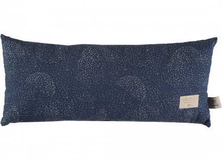 Cojin Hardy 22x52 gold bubble/ night blue