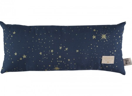 Cojin Hardy 22x52 gold stella/ night blue