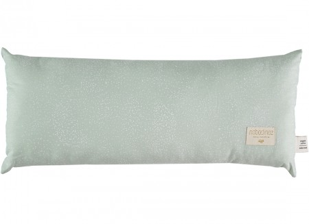Cojin Hardy 22x52 white bubble/ aqua
