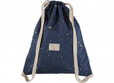 Mochila Koala 40x34 gold stella/ night blue