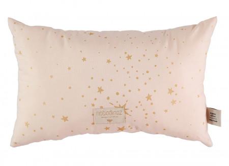 Cojin Laurel 22x35 gold stella/ dream pink
