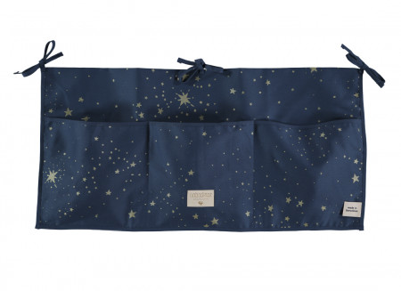 Organizador de cuna Merlin 30x60 gold stella/ night blue