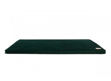 Zanzibar velvet mattress jungle green