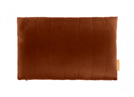 Akamba velvet cushion wild brown