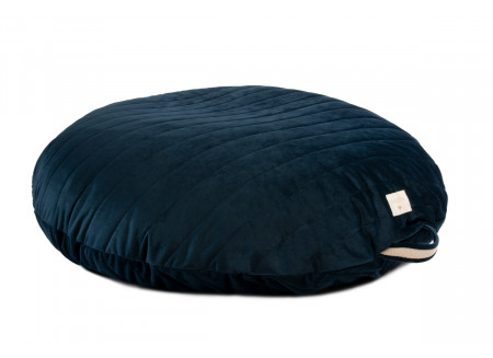 Sahara velvet beanbag night blue