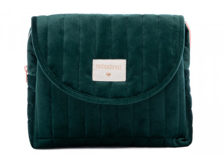Savanna velvet Maternity Case jungle green