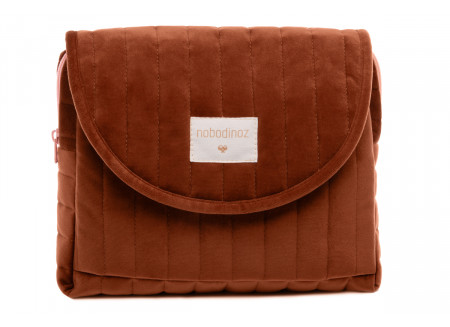 Savanna velvet Maternity Case wild brown