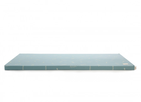 Colchoneta de suelo Saint Barth 60X120X4 gold secrets/ magic green