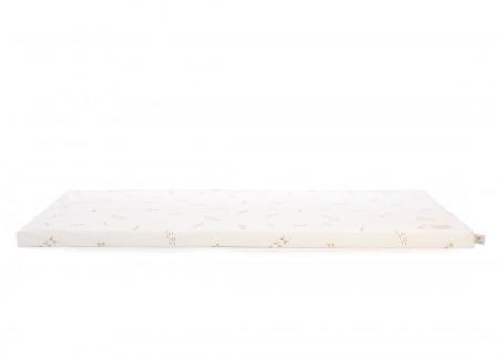 Colchoneta de suelo Saint Barth 60X120X4 gold secrets/ white